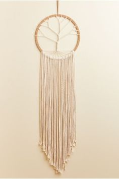 Macramé Tree Wall Hanging - Earthbound Trading Co.