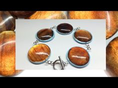 Polymer clay Cabochons (Fimo liquid)- Tutorial - YouTube