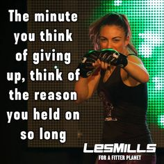 The minute you think of giving up, think of the reason you held on so long Workout Gear, Gym Workouts, Workout Fitness, Taekwondo, Les Mills Combat, Body Combat, Marathon Training, Mma Training, Gym Quote
