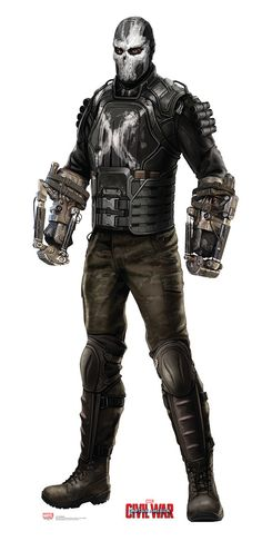 Crossbones from Captain America Civil War Life-Size Cardboard Standup