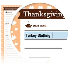 Thanksgiving Dinner Plan - Download here: https://www.alejandra.tv/shop/printable-home-organizing-checklists/?utm_source=Pinterest&utm_medium=Pin&utm_content=Checklistk&utm_campaign=Pin    Use this checklist to plan out and shop for everything you are going to make for Thanksgiving Dinner. Tracking everything on one checklist makes shopping and cooking so much faster and easier!