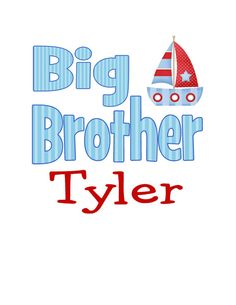 Big Brother Digital File Great for TShirt by CelebrationzbyMel, $2.95