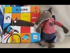 Il Lupo che non voleva più camminare - Lallemand, Thuillier edito da Gribaudo - YouTube Childrens Books, Dinosaur Stuffed Animal, Preschool, Youtube, Disability, Animals, Short Stories, Literatura, Wolves
