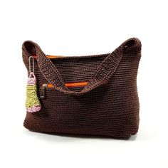 ☀ Hupi chocoa pastel ☀ 35*20*10 ☀.180 Ribu  Fix keep = transfer #tasrajut #nylon #berkualitastinggi #fashioncantik #fashionwanita #fashionbags #womanbags #rajuthalus #crochetlover #crochet #crochetbags #airatasrajut #yogyakarta #alhamdulillahforeverything