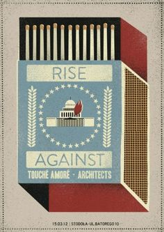Rise Against - Touche Amore - Architects