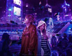 Chromaspace • Vrene p/s ahehehehe hope you like this guys!!! another fanart~~~ edit. lololol #vrene #irene #taehyung #taerene #joohyun #v #bts #redvelvet #btsvelvet #bangtanvelvet #edit #springday #bellatrixia Music Awards 2014, Seoul Music Awards, K Pop, Bts Girlfriends, Taehyung Fanart, Girl Couple, Ulzzang Couple, Dramione, Kpop Fanart