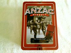 LIMITED EDITION UNIBIC ANZAC BISCUIT TIN 2013 - THE VICTORIA CROSS | eBay