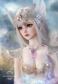 scale Entity resin BJD/SD doll Super Exquisite White Elf Elizabeth,Very nice gift toy. Fantasy Art Women, Beautiful Fantasy Art, Beautiful Fairies, Beautiful Dolls, Elfen Fantasy, Chica Fantasy, Enchanted Doll, Fairy Pictures, Anime Dolls