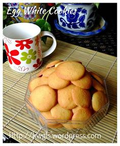 EGG WHITE CRISPY BISCUIT (VANILLA WAFERS) #kenneth_goh #guaishushu #egg_white_crispy_biscuit #蛋白脆饼