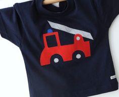 Feuerwehrauto - Jungenshirt