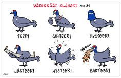learn Finnish with the smile Learn Finnish, Finnish Language, Donald Duck, Disney Characters, Fictional Characters, Jokes, Learning, Illustration, Animals