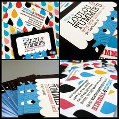 Loulou & Tummie Business Card