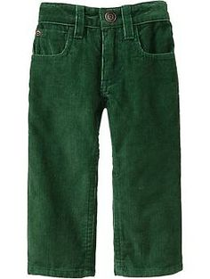Straight-Leg Cords for Baby | Old Navy Вельветовые брючки с регулируемым поясочком. Хлопок.