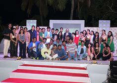 Team Choice on stage - Annual Meet 2015 @Goa