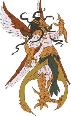 """Peroroncino """"Winged Lord of Bombardment"""" """"The Archer"""""""
