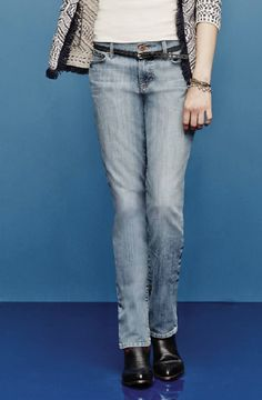 Lucky Brand's straight-leg jeans — just pair with your favorite white tee
