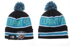 164357ee583 Mens Womens Oklahoma City Thunder New Era NBA Best Seller The Coach Kevin  Durant Woven Winter Fashion Knit Pom Beanie Hat