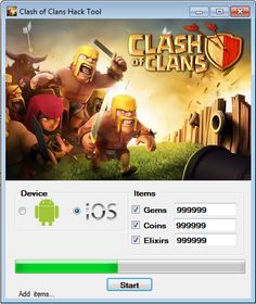 clash of clans взлом android 2015