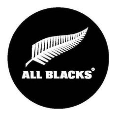 All Blacks Logo Vector Brush Embroidery, All Blacks Rugby, Rugby Sport, New Zealand Rugby, World Cup Champions, Spare Tire Covers, Famous Sports, Sports Brands, Sports Logos