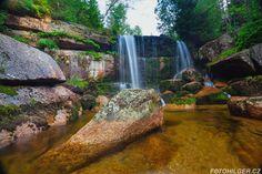 Pár tipů a rad pro fotografování vodopádů, řek a potoků