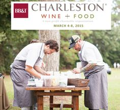 Charleston, SC: Top 15 things to do in 2015: #8) Go to the Charleston Wine & Food Festival