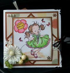 card di benveuto per la piccola Miriam