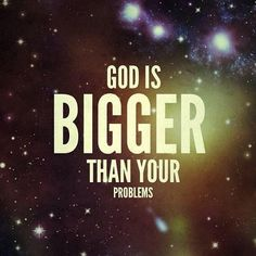 """""""MT God is bigger than even your biggest problems! Bible Verses For Women, Bible Verses About Strength, Girls Bible, Bible Verses About Love, Biblical Quotes, Bible Verses Quotes, Bible Verses About Relationships, Bible Verses For Depression, Gods Strength"""