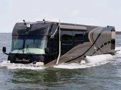 Terra Wind amphibious rv...Mom, LadyHawk cannot do this!