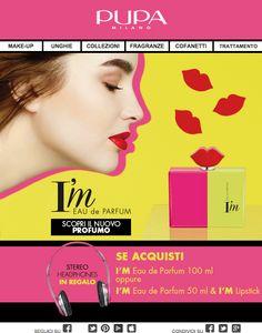 Pupa | Promo I M Parfum  il nuovo profumo di Pupa