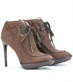 The Field Cardcross Platform Ankle Boots
