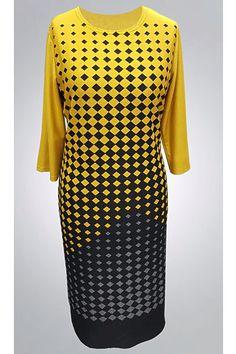 Hořčicové šaty s kostkami Zaria Pauline Short Sleeve Dresses, Dresses With Sleeves, Fashion, Moda, Sleeve Dresses, Fashion Styles, Gowns With Sleeves, Fashion Illustrations