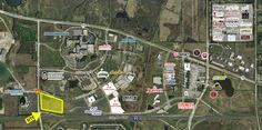 Bank owned land available for sale in Hoffman estates with I-90 Frontage.