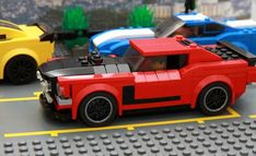 1969 Ford Mustang BOSS 302: A LEGO® creation by marcel urbanija : MOCpages.com