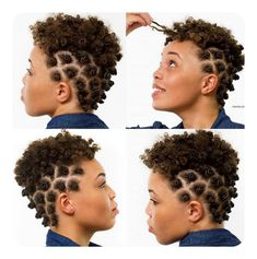Bantu Knots Tutorial Plus 25 Hot Pictures bantu knots on short hair<br> Here are four simple steps on how to do bantu knots. We have also listed some cute hairstyle pictures to view as well. View the tutorial on bantu knots. Bantu Knots Short Hair, Bantu Knot Curls, Bantu Knot Hairstyles, African Hairstyles, Black Hairstyles, Hairstyles 2016, Cute Hairstyles, Tapered Natural Hair, Pelo Natural