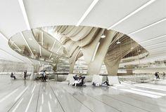 Taichung City Cultural Center Compeion Entry Bat Bilbao Architecture Team Visualization