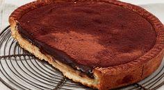 La ricetta veloce della crostata con ganache al cioccolato