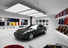 69 Best Car Showroom Images On Pinterest Garage Showroom Interior