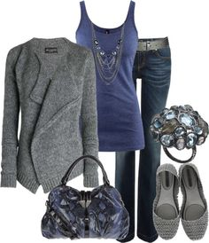 """blue hue"" by lagu on Polyvore"