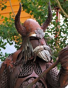 Viking Sculpture by DSPimpact, via Flickr