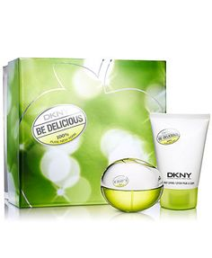 DKNY Be Delicious Be Delightful Gift Set. I don't think this a good perfume for the younger generation. My mom likes it.