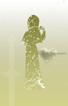 Princess Mulan Silhouette by ArtisticDreamers on Etsy