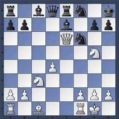White to play and mate in 4 moves - http://www.echecs-et-strategie.fr/2011/05/echec-mat-en-4-coups-niveau-moyen_07.html - If you solve it, SHARE it ! #chess #scacchi #echecs #escacs #ajedrez #schach