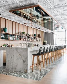 Restaurant Rating Tied House - Chicago, United States of America Design Café, Bar Interior Design, Design Hotel, Interior Modern, Cafe Design, House Design, Design Ideas, Design Interiors, Modern Design