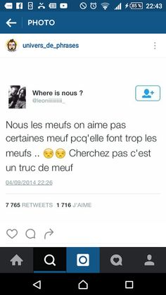 Non non, on va pas chercher hein. Best Tweets, Bff Quotes, Lol So True, Funny Moments, Laugh Out Loud, Affirmations, Funny Jokes, Funny Pictures, Positivity