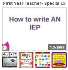 First Year Teacher - Special Education