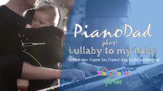 Piano-Papa spielt Baby in den Schlaf   Lullaby-Version