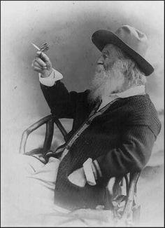 Walt Whitman American Poet Poetry Bronze Sculpture Statue Chair Butterfy (amber)