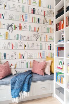 Playroom Wallpaper, Playroom Mural, Playroom Table, Modern Playroom, Baby Playroom, Playroom Furniture, Playroom Storage, Playroom Design, Wallpaper Decor