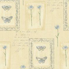 Sanitas Cream Strippable Non-Woven Prepasted Classic Wallpaper