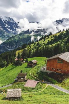 Murren Switzerland.... Relax with this nature photo. #Relax more with this #free #music with #BinauralBeats that can #heal you. #landscaping #LandscapingIdeas #landscapeDesign